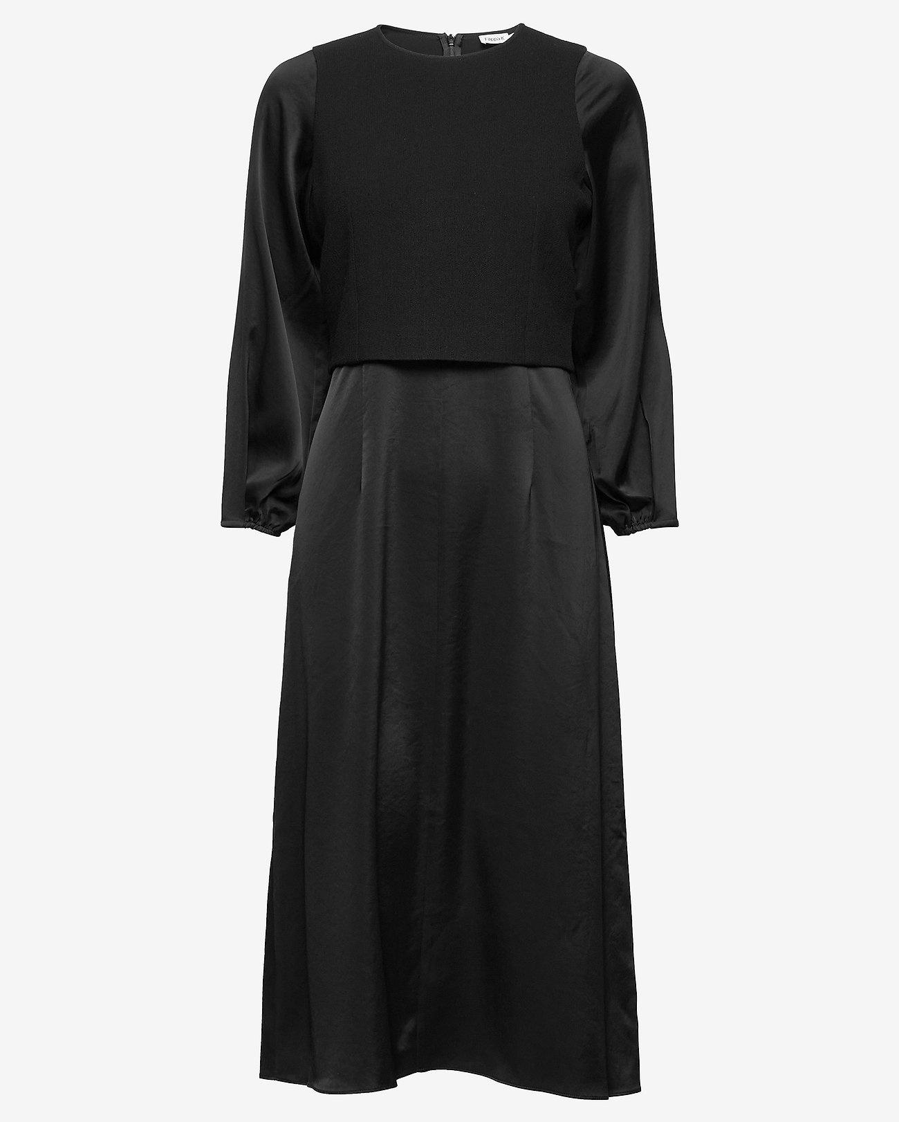 Filippa K Midi Dames jurk, zwart