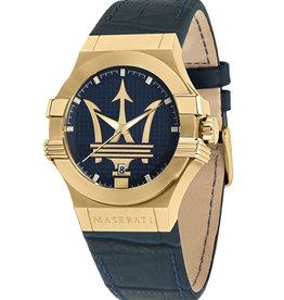 Maserati Potenza Horloge, blauw