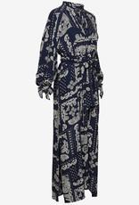 Gant  Dames Maxi- jurk, blauw