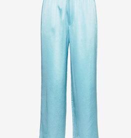 Filippa K Satin broek, turquoise