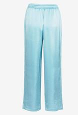 Filippa K Hayley Satin broek, turquoise