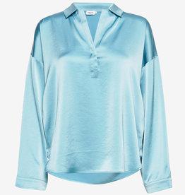 Filippa K Satin blouse, turquoise