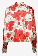 Ganni Satin Dames blouse, multi