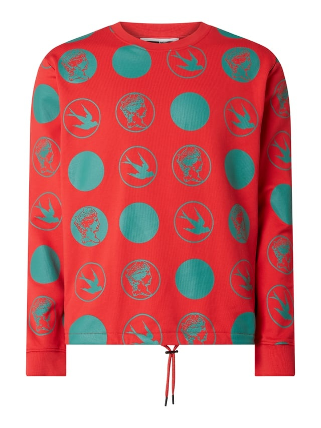 McQ Alexander McQueen sweatshirt, rood