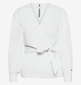 Tommy Hilfiger Cortefiel  blouse, wit