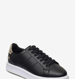 Lauren Ralph Lauren Dames Sneakers, zwart
