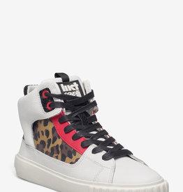 Just Cavalli Hoge sneakers, wit