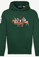 Polo Ralph Lauren Triple-Pony Crest Hoodie, groen
