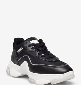 Furla leder sneakers, zwart