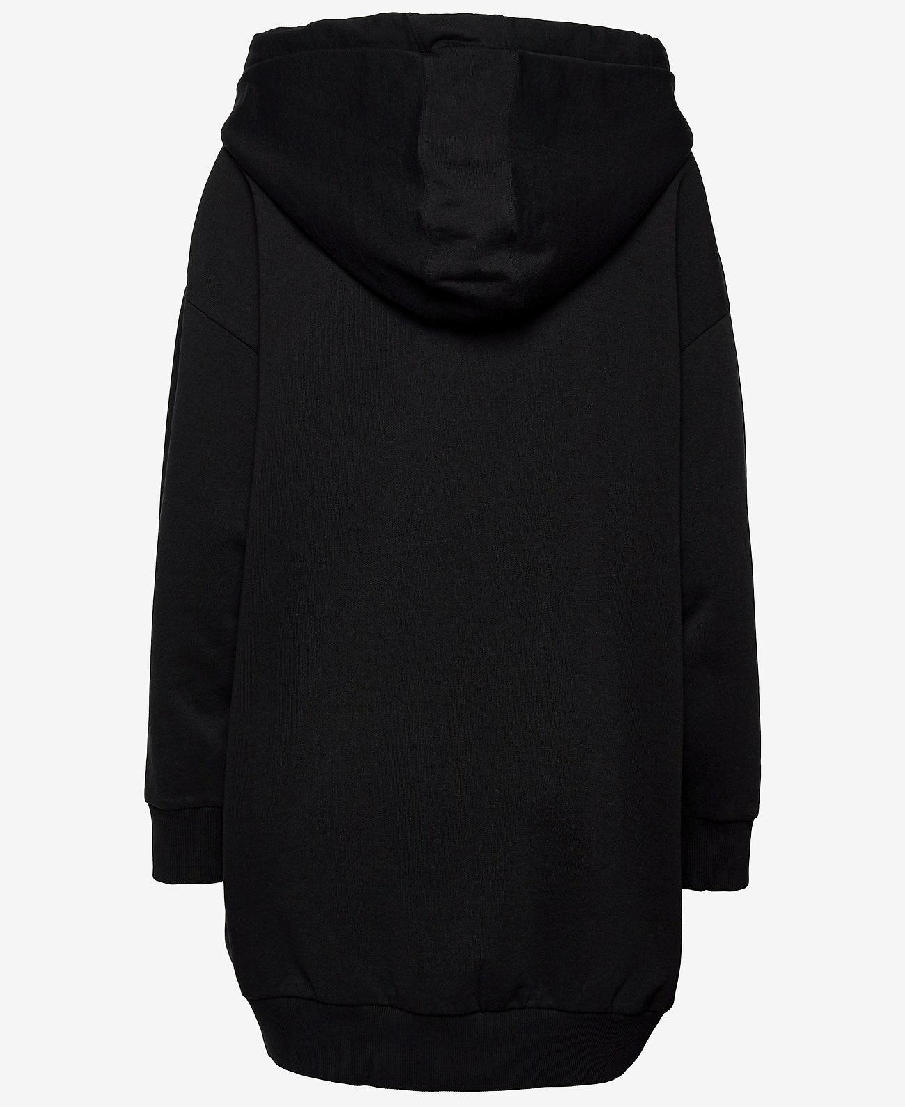 Just Cavalli Lange Sweatshirt, zwart