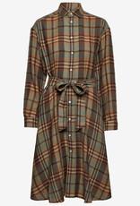 Polo Ralph Lauren Dames Maxi-jurk, bruin