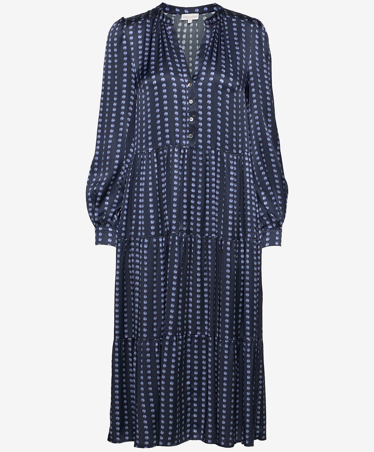 Dea Kudibal midi-jurk, blauw