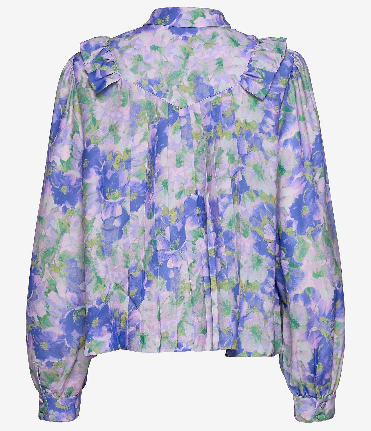 Mads Nørgaard Dames blouse, multi
