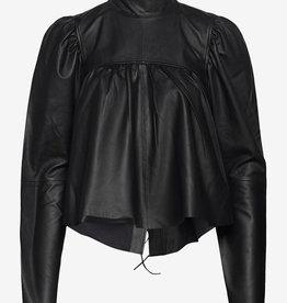 Custommade blouse, zwart