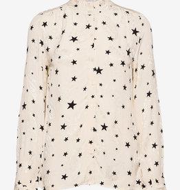 Fabienne Chapot blouse, wit/zwart
