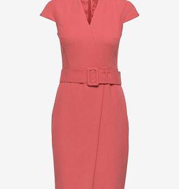 HUGO midi-jurk, rood
