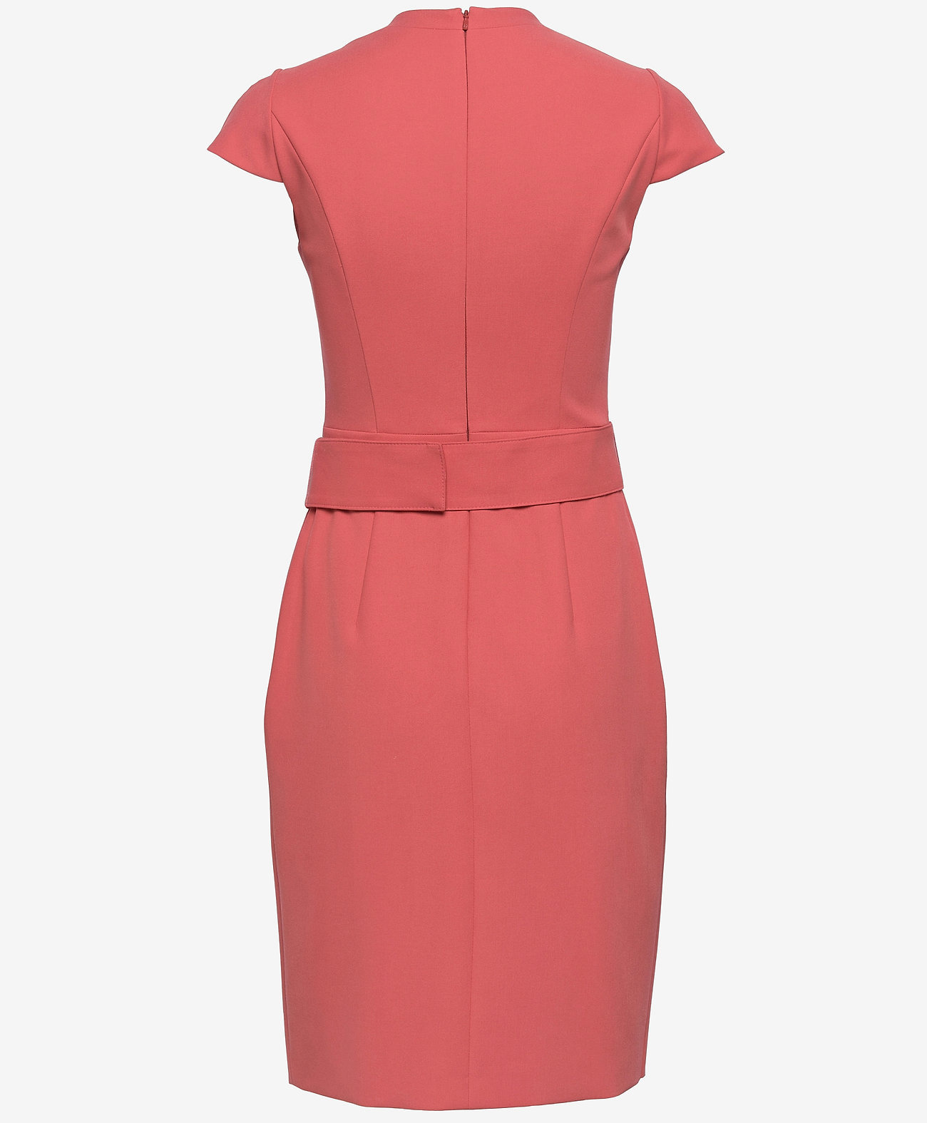 HUGO Dames midi-jurk, rood
