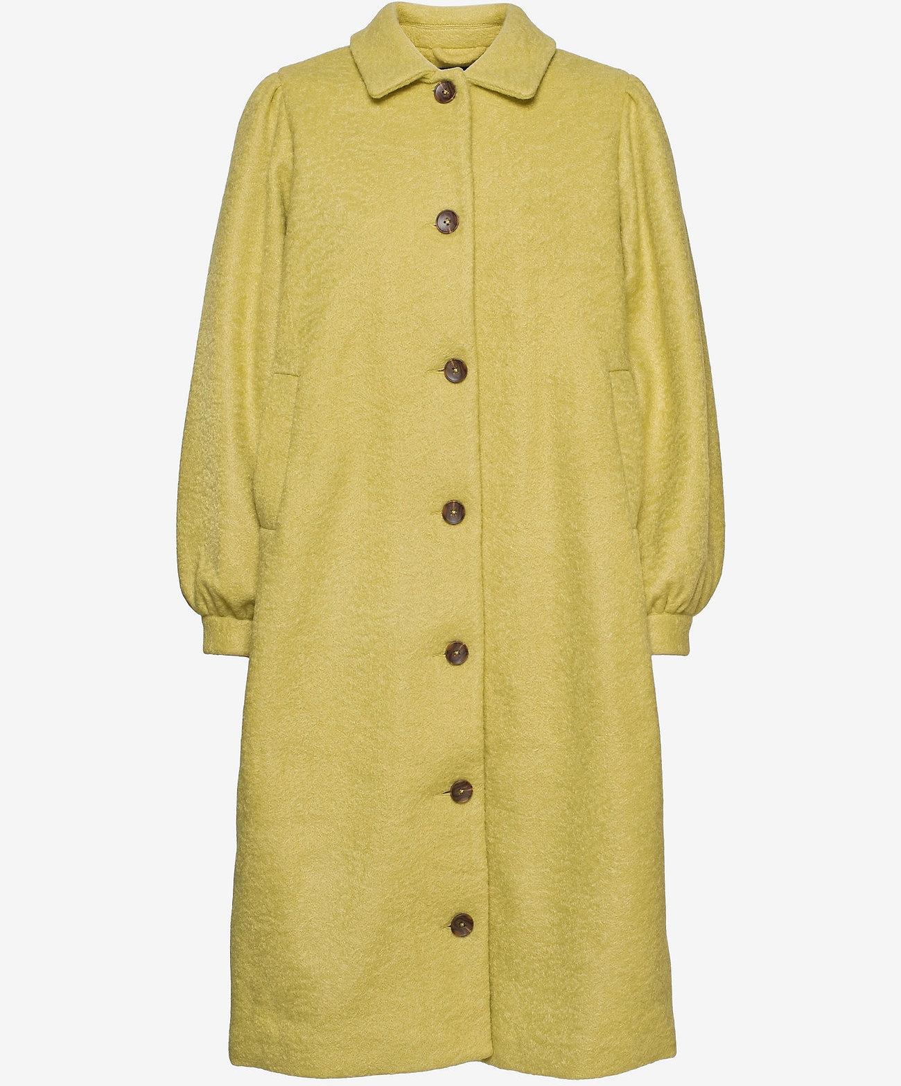 Résumé Dames tussenjas, geel