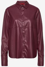 Max&Co. Dames blouse, bordeauxrood