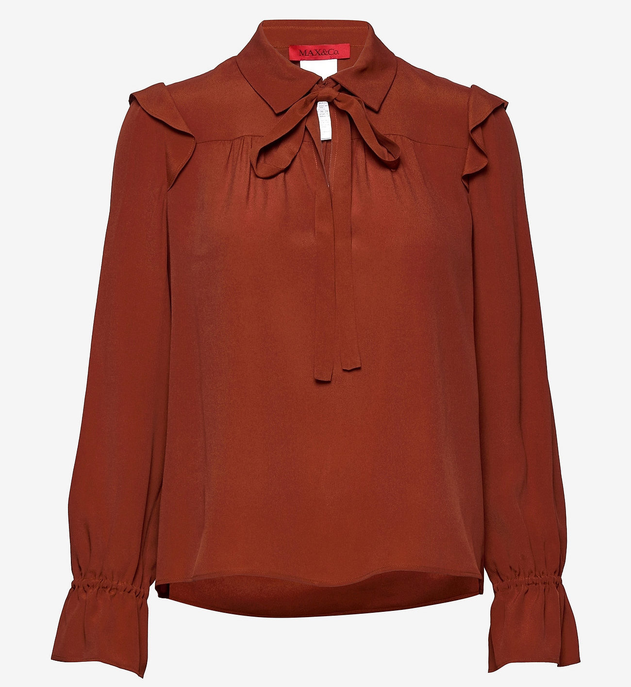 Max&Co. dames blouse, rood