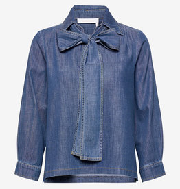 See by Chloe blouse, blauw