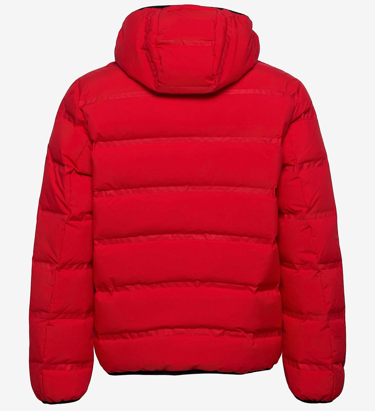Armani Exchange winterjas, rood