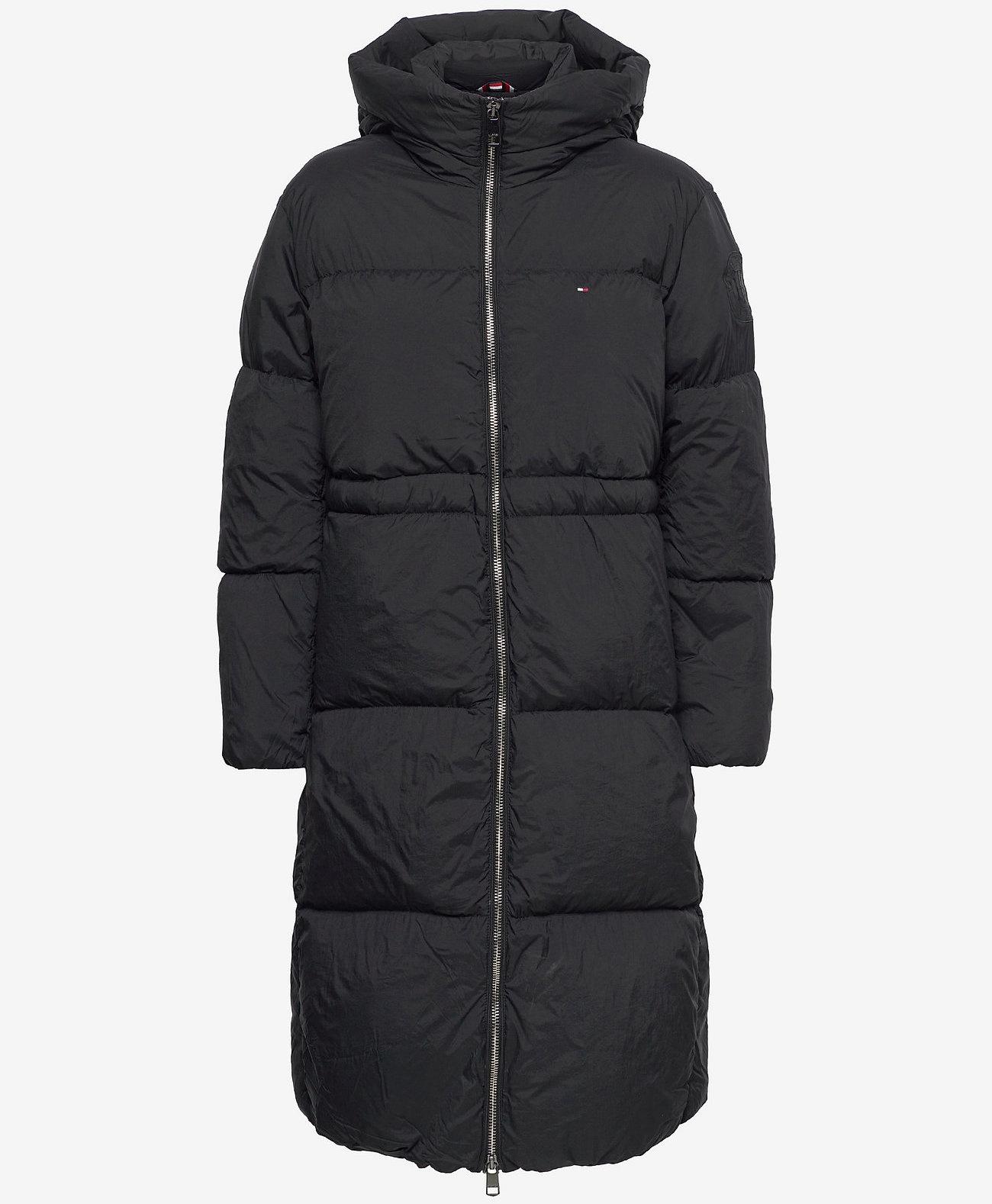Tommy Hilfiger Dons winterjas, zwart