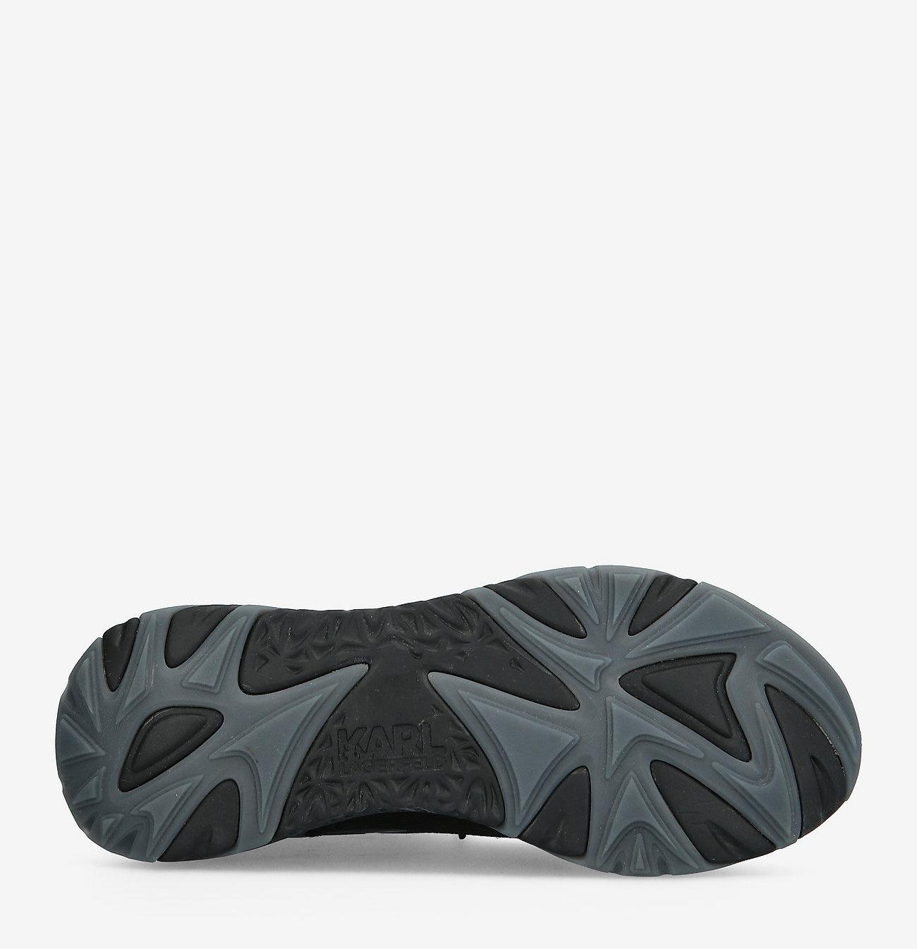 Karl Lagerfeld Urban sneakers, zwart