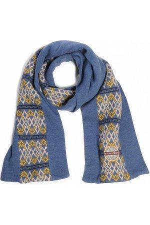 N-Z-A Sjaal Rio, blauw-geel
