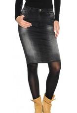 Replay  fashionable spijkerrok, antraciet