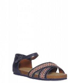 Tommy Hilfiger Dames Sandalen, marineblauw