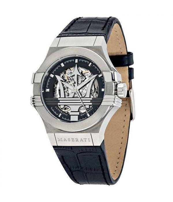 Maserati Potenza Oxus Horloge, zwart