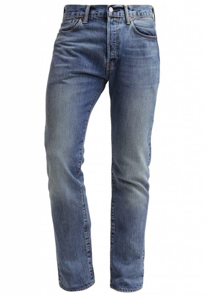 Levi's® 501 regular Fit jeans, blauw