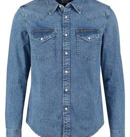 Lee overhemd, lichtblauw