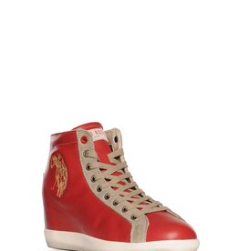 U.S. Polo Assn Sneakers, rood