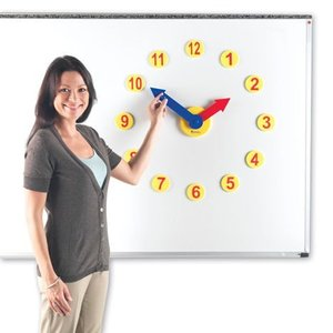 Oefenklok voor whiteboard