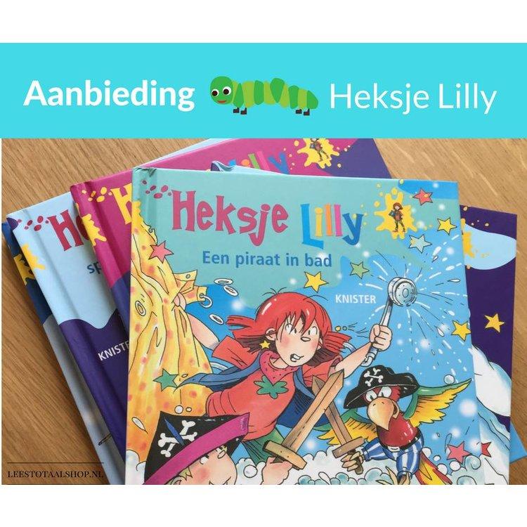 Set van 5 Heksje Lilly boeken