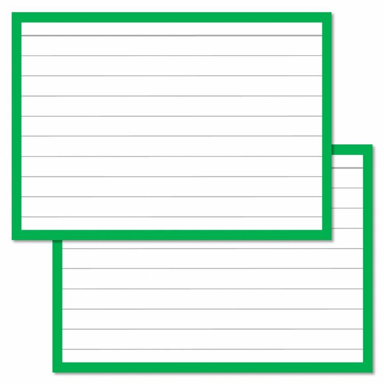 Flashcards  - kleurenpakket