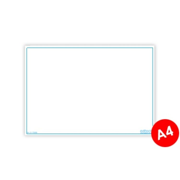 Whiteboard kaarten - Blanco