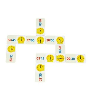 Dominospel Klokkijken