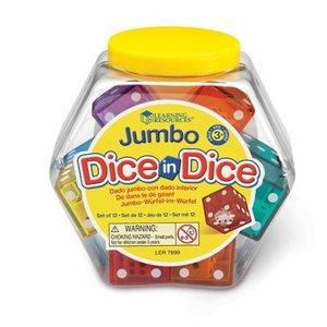Jumbo Dice-in-dice dobbelstenen