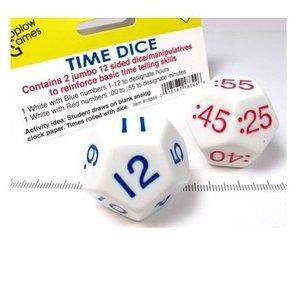 Time Dice Klok Dobbelstenen