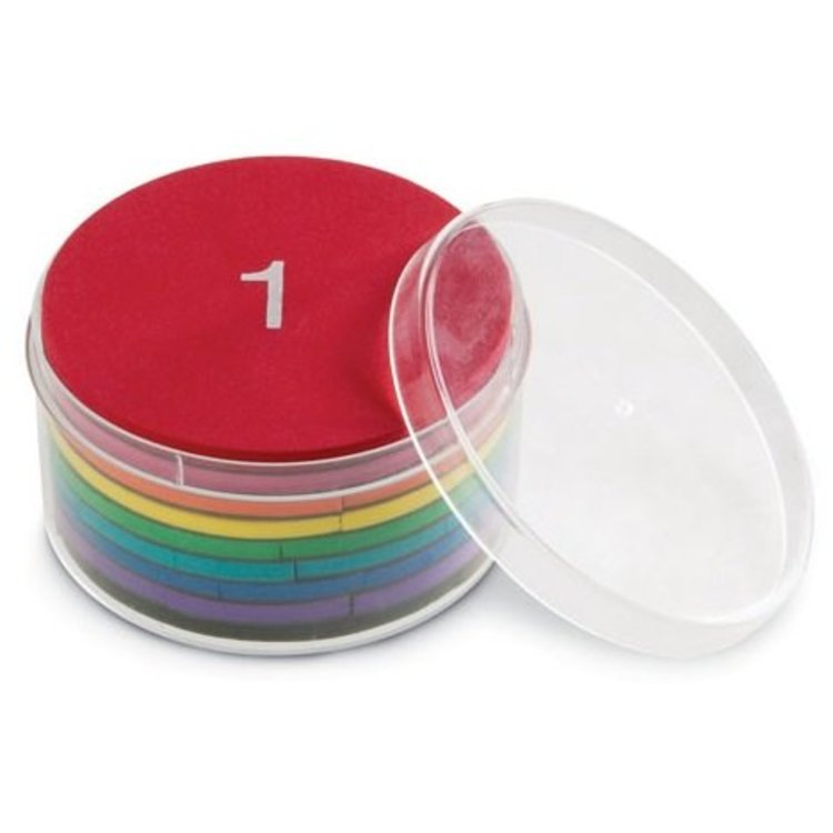 Breuken oefenen met deze magnetische foam set