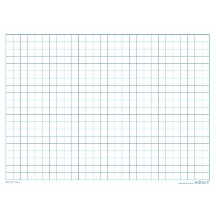 Whiteboard kaarten - geruit