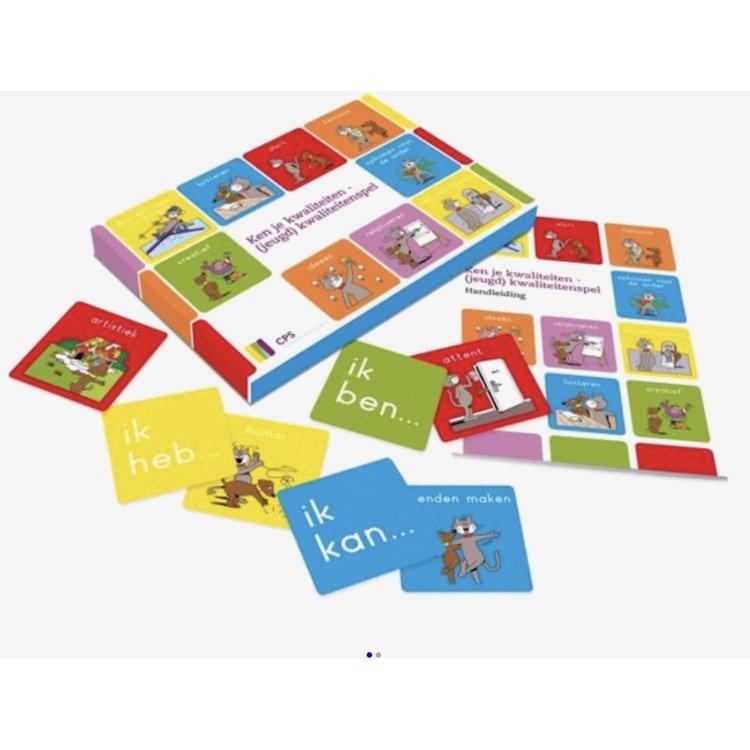 Ken je kwaliteiten - Kinderkwaliteitenspel