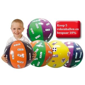 Speelballen met sommen onder de 20
