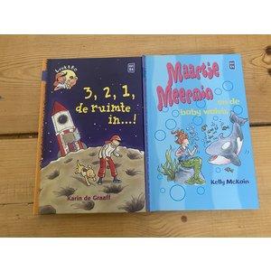 Set van 2 Kluitman boekjes, avi E4