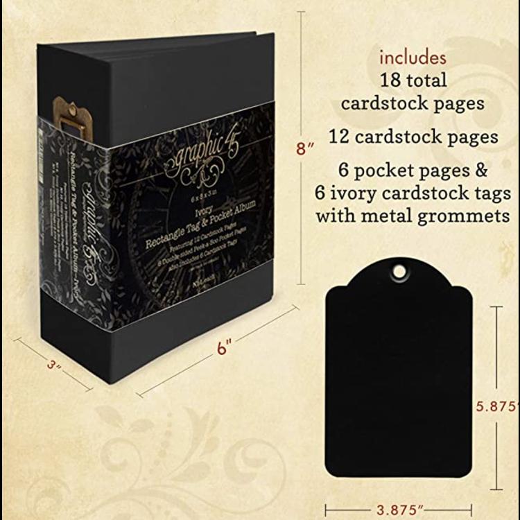 Graphic 45 Tag & Pocket album
