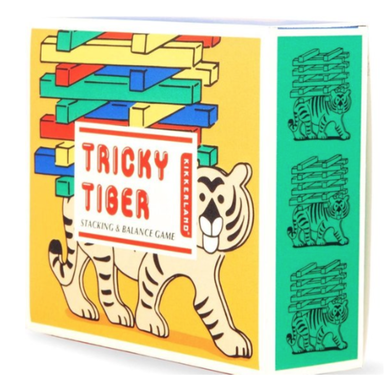 Tricky Tiger - Stapelspel