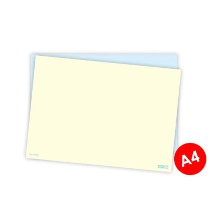 Whiteboard kaarten - Blanco A4